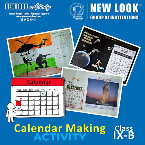 Calendar Making Activity