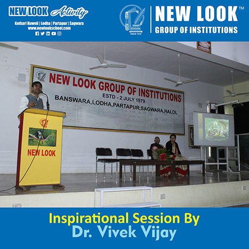 Motivational session by Dr.Vivek Vijay