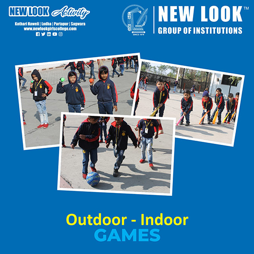 """Outdoor - Indoor Games"""