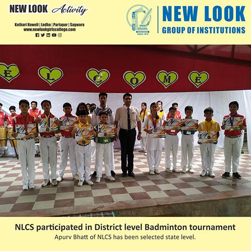 64th District level Badminton tournament