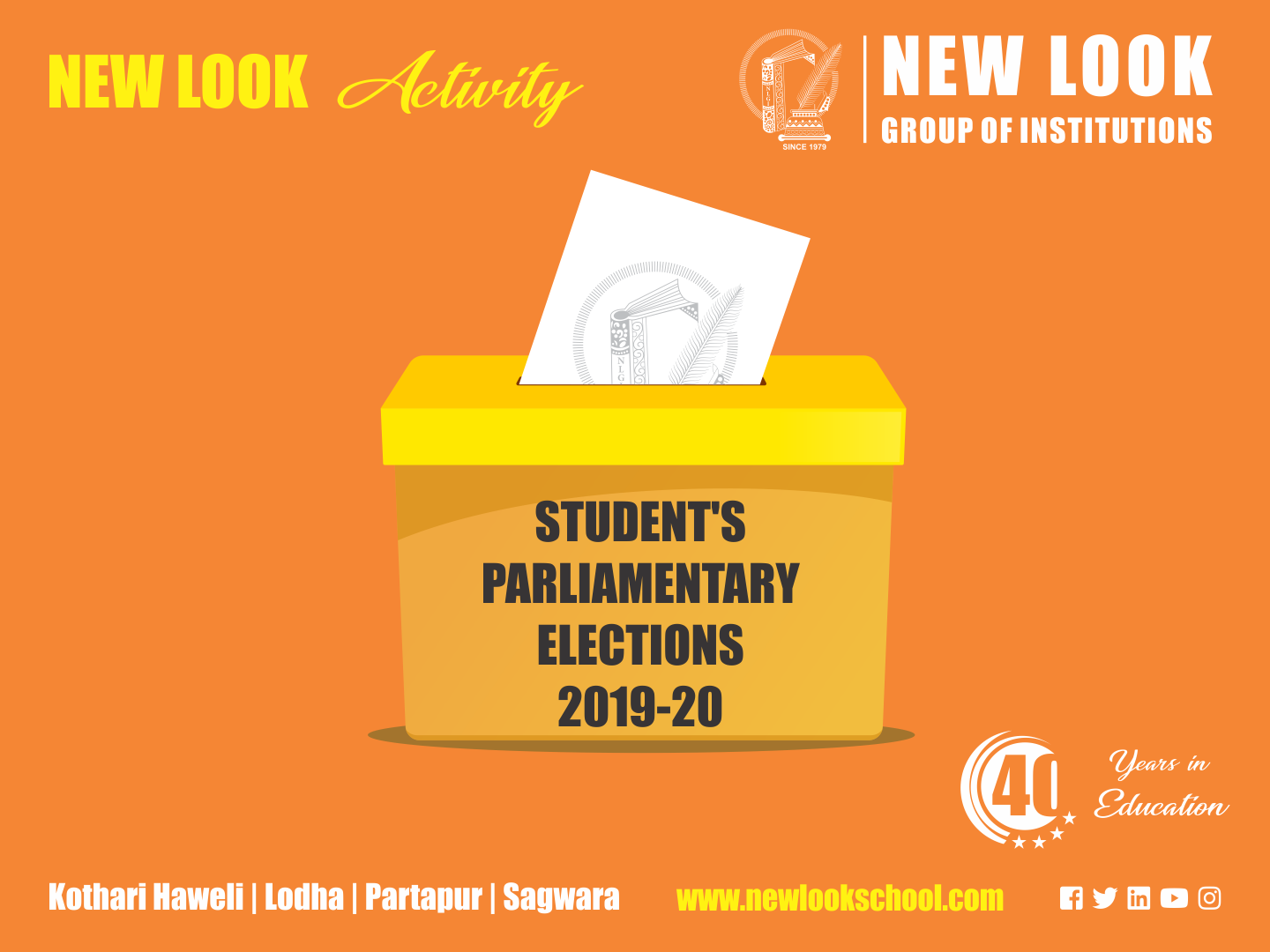 STUDENT'S PARLIAMENTARY ELECTIONS 2019-20
