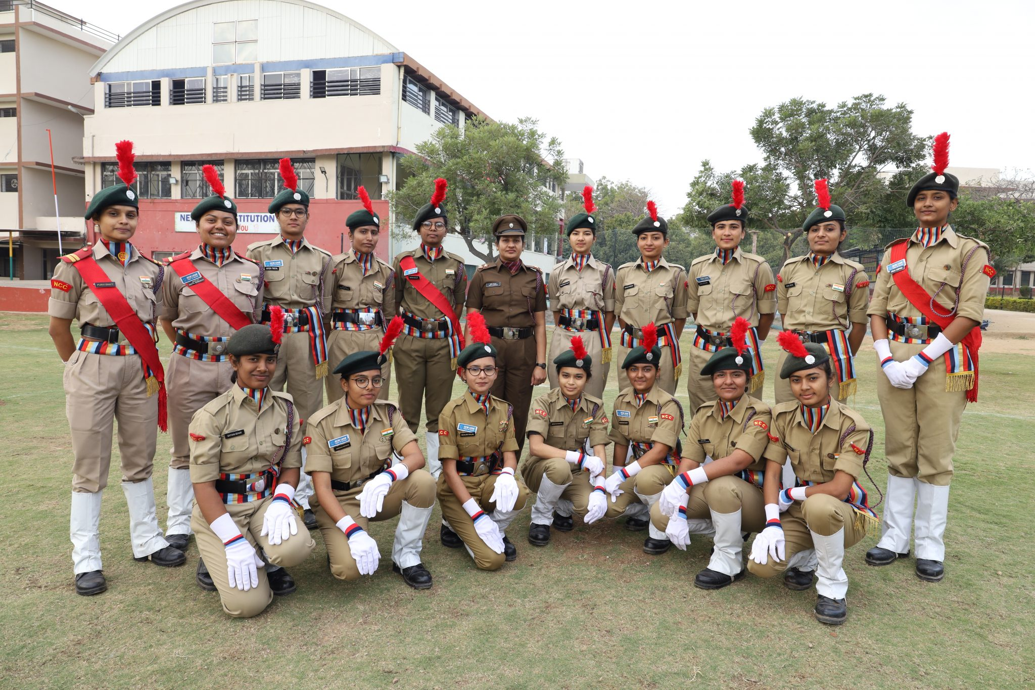 The National Cadet Corps (NCC) New Look School Banswara