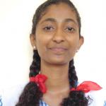 ATHULYA M JOHN - Best CBSE School Standard 12 Science Toppers New Look School