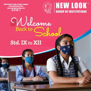 New look school welcomes the students back to the school!